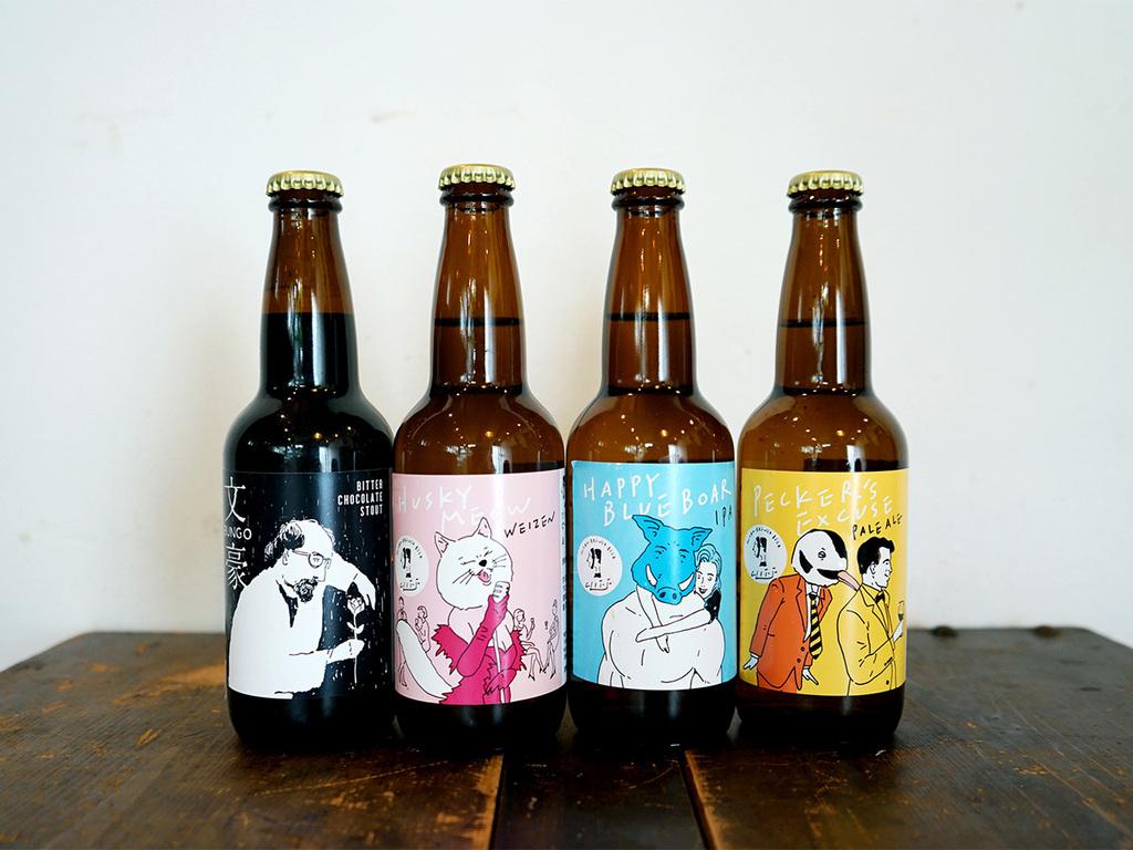ラベルのデザインもお洒落な「クリフビール」プレゼント☆(画像はイメージです)
