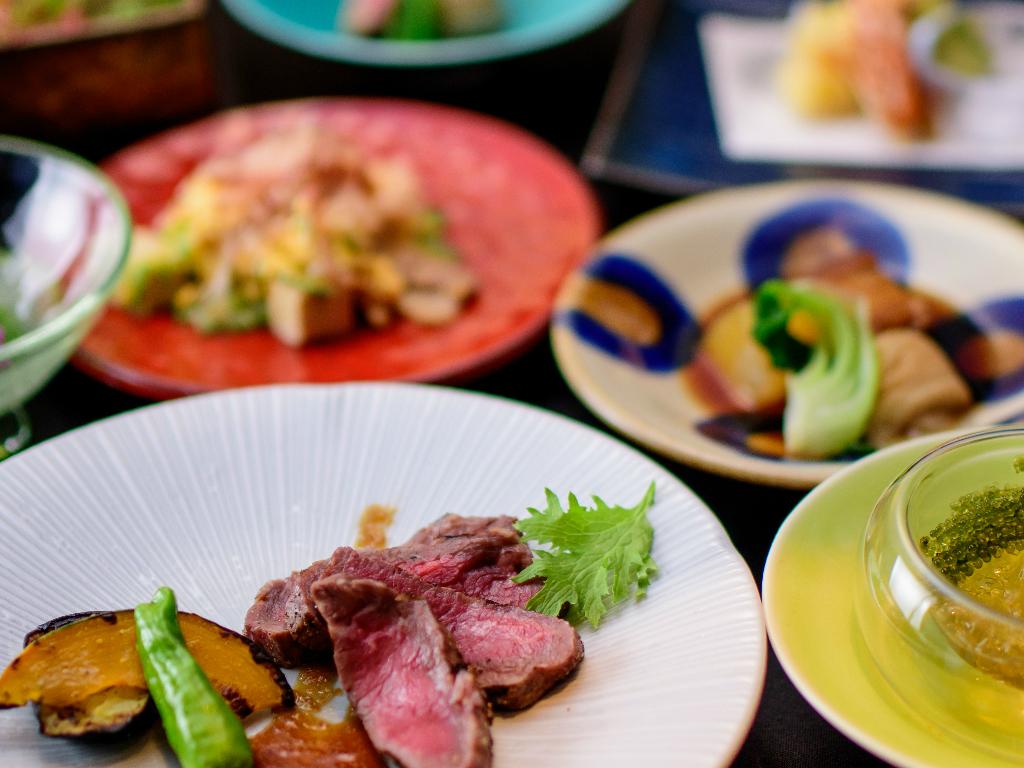 【Restaurant 無垢】多くの品数を少しずつ楽しめる、デギュスタシオンスタイルで御愉しみください。※画像イメージ