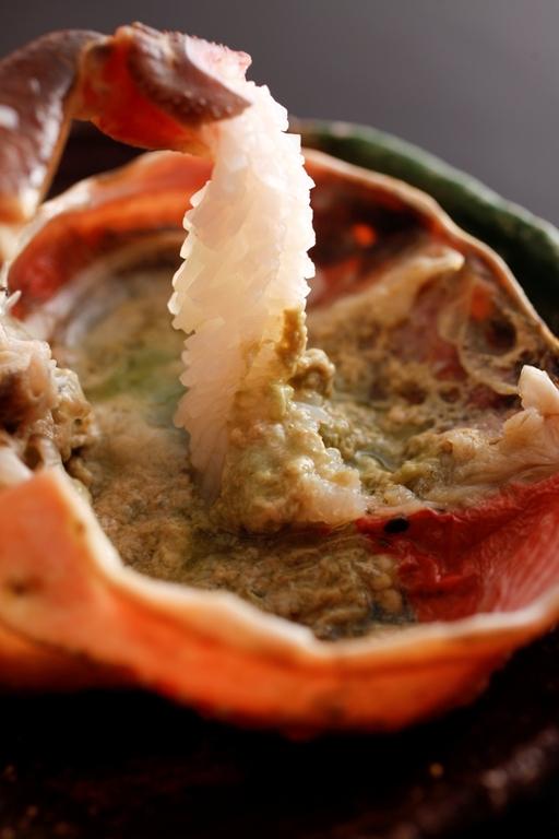 夢乃井でもタグ付き松葉蟹をお愉しみ頂けるお献立をご用意致しました。