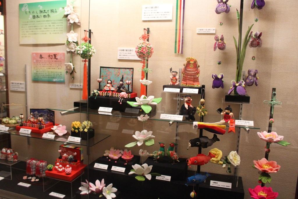 【日本玩具博物館】3号館・ちりめん細工