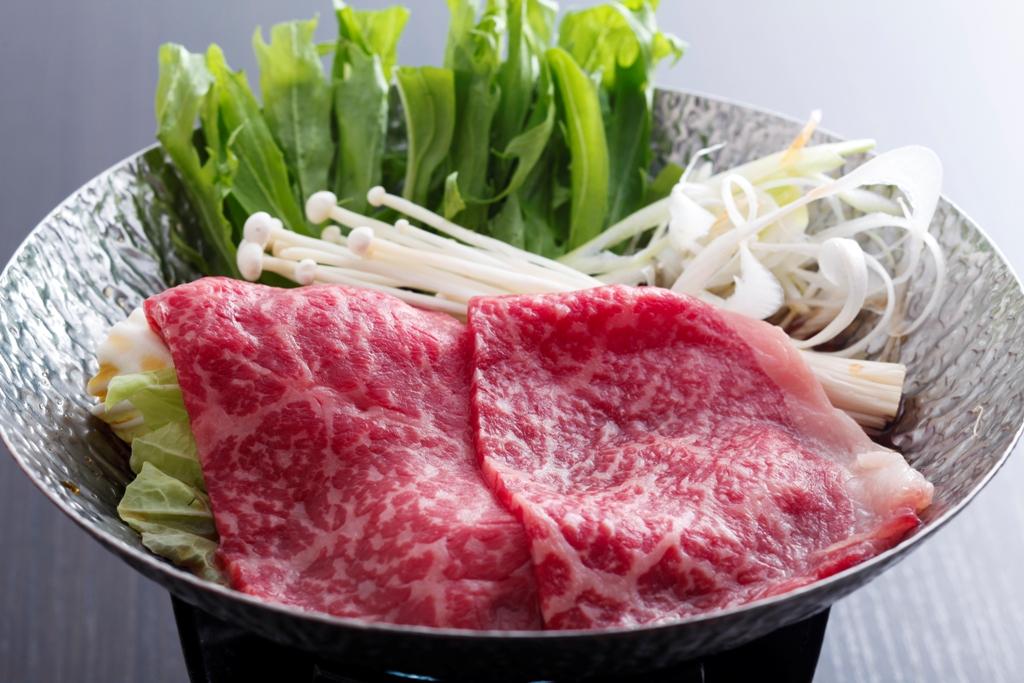 姫路和牛の鋤鍋