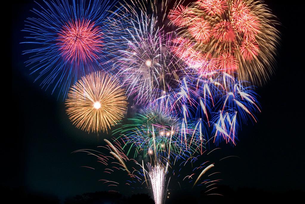 毎年恒例☆8月13日の関門海峡花火大会