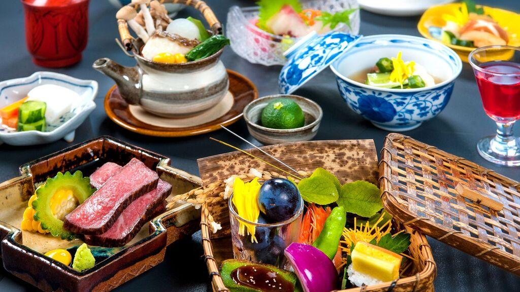 松風旬のディナーフェア会席 5月