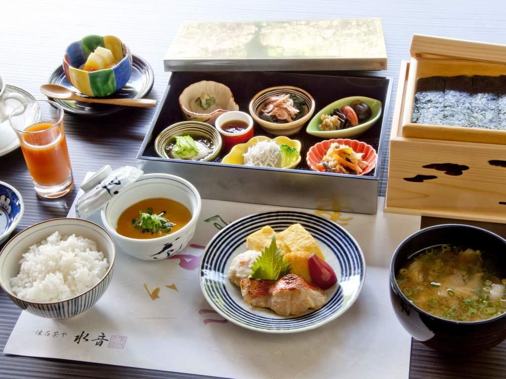 ご朝食(一例)