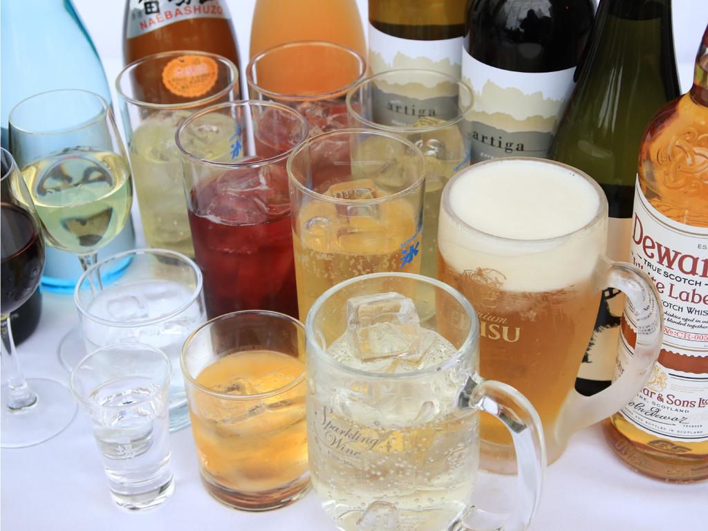 【夕食時アルコール類飲み放題付】