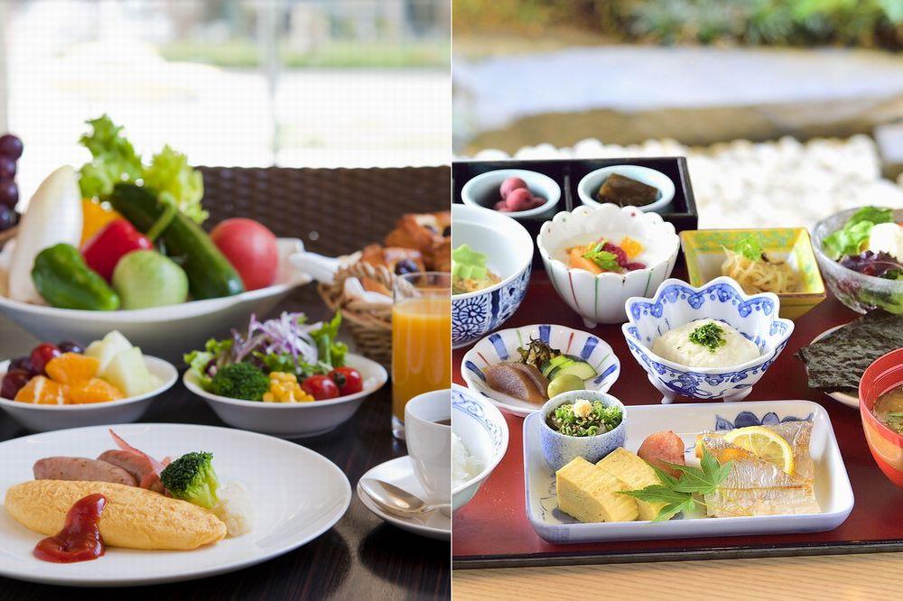 和・洋選べる朝食付き!