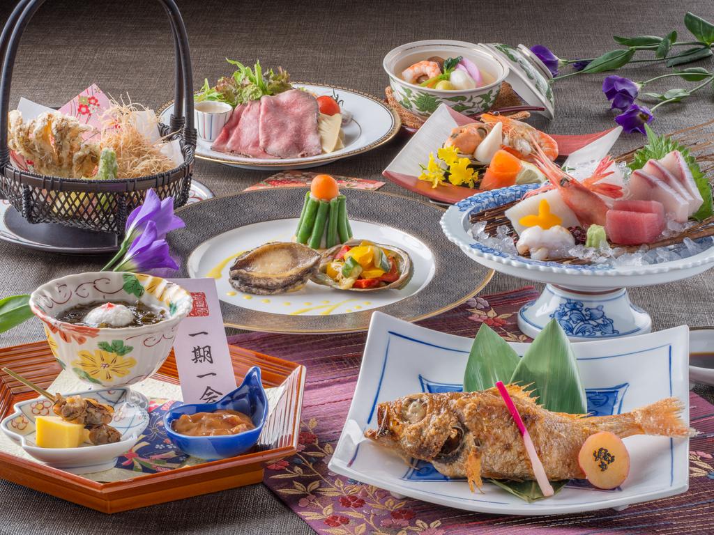 【食事】レストラン「季の蔵」春夏の特選会席<イメージ>