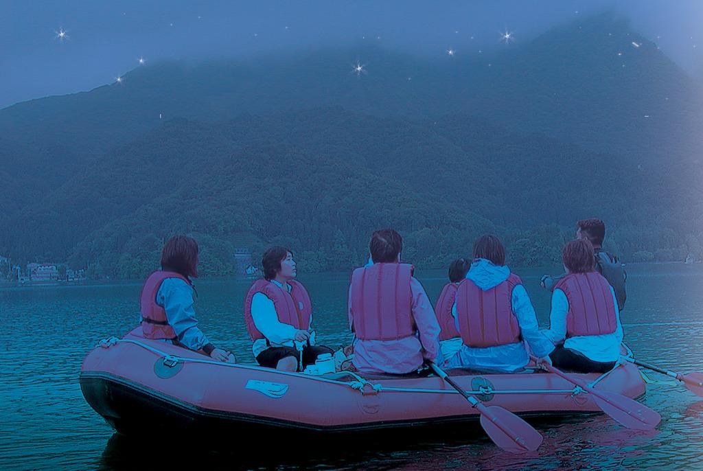 湖上ホタルツアーイメージ