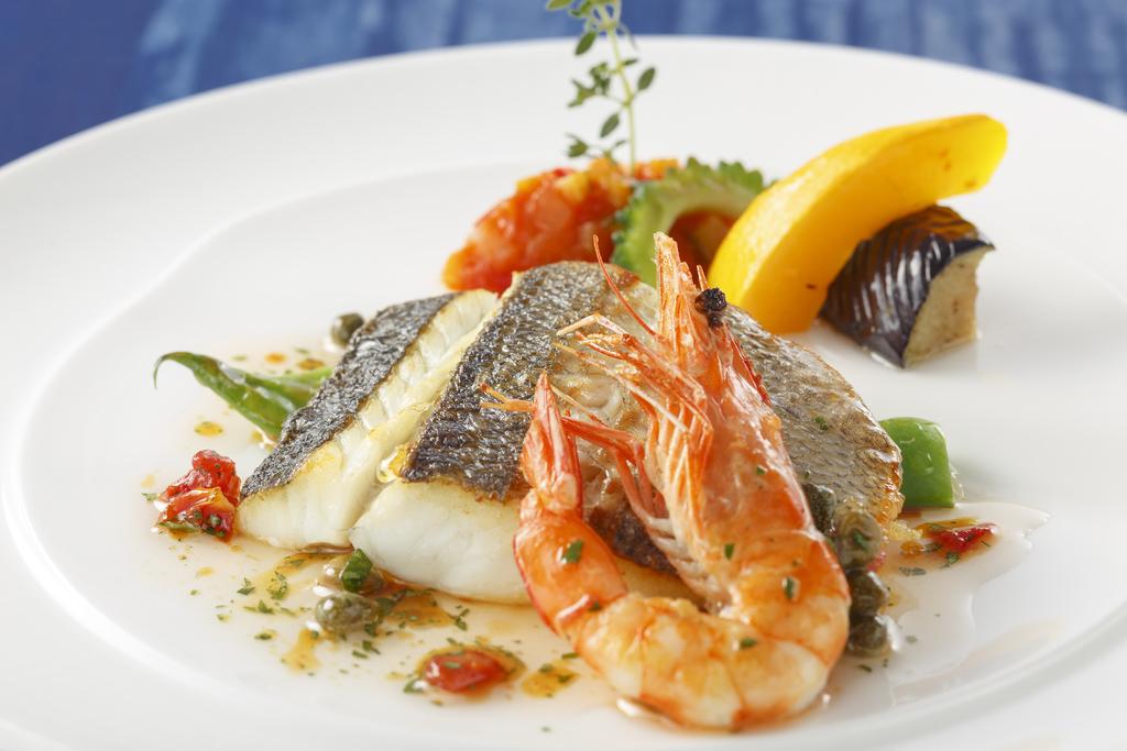 アゼリアコース 魚料理