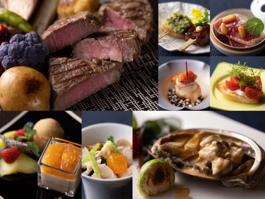 1Fレストラン ディナーメニューイメージ