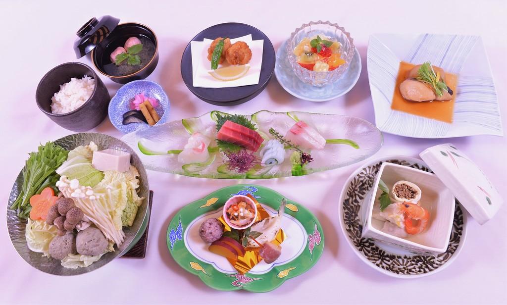 夕食イメージ(四季食彩一例)