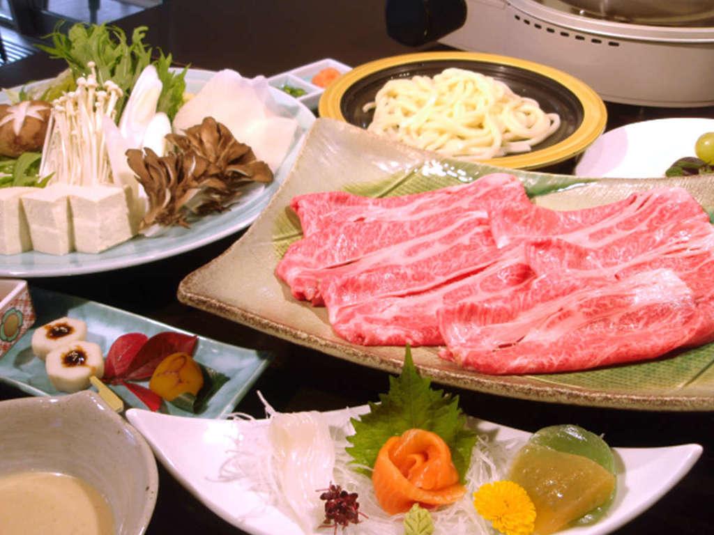 【福島県産 牛しゃぶしゃぶコース】