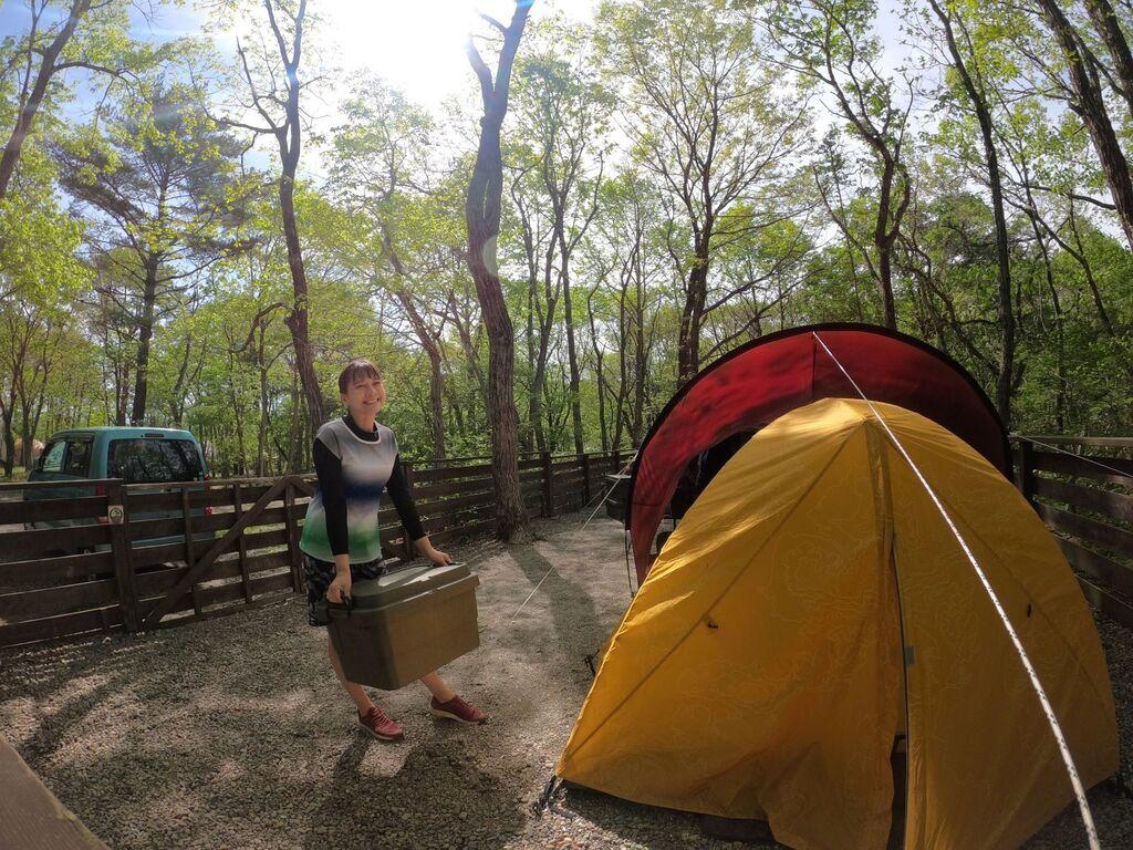 ドッグフリーにできるオートキャンプ