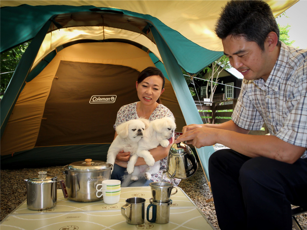 ペットと泊まれるキャンプ場