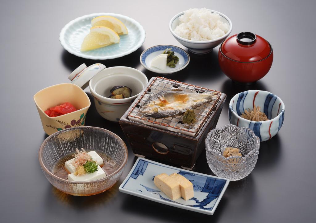 朝食(夏のメニュー)