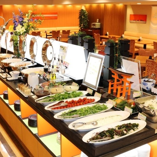 和洋朝食バイキング(6:30オープン)