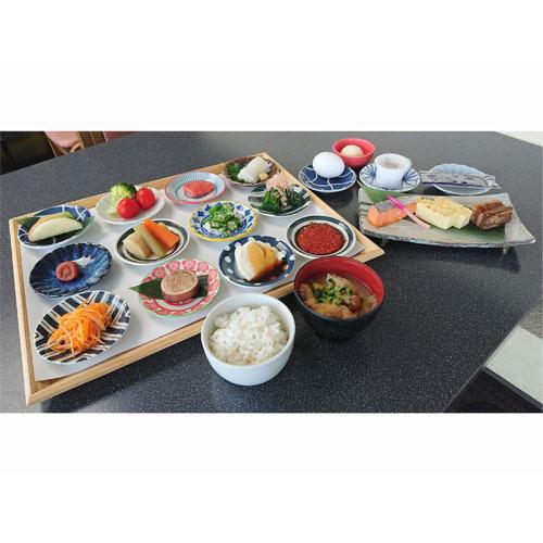 七飯町「勝田豆腐店」の寄せ豆腐 、いくら・たらこ・いか刺し等の和定食をご用意いたします♪