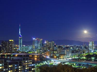 【福岡夜景】提供:福岡市