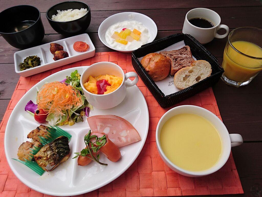 【コロナ対策中】朝食メニューイメージ
