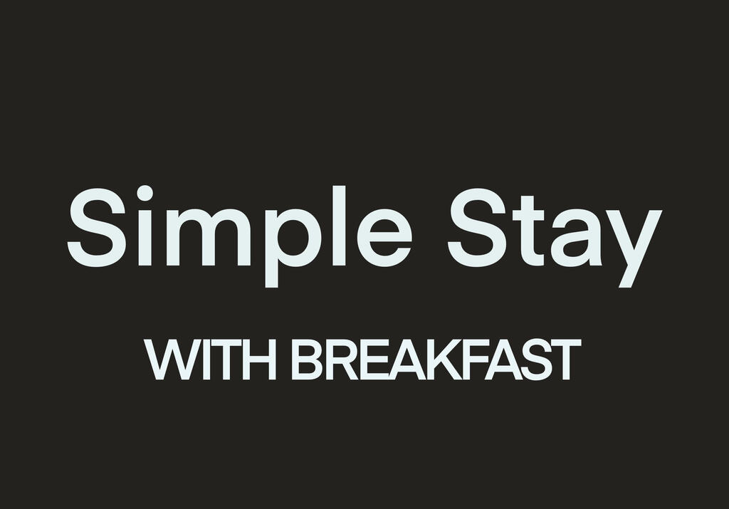 朝食付シンプルステイ