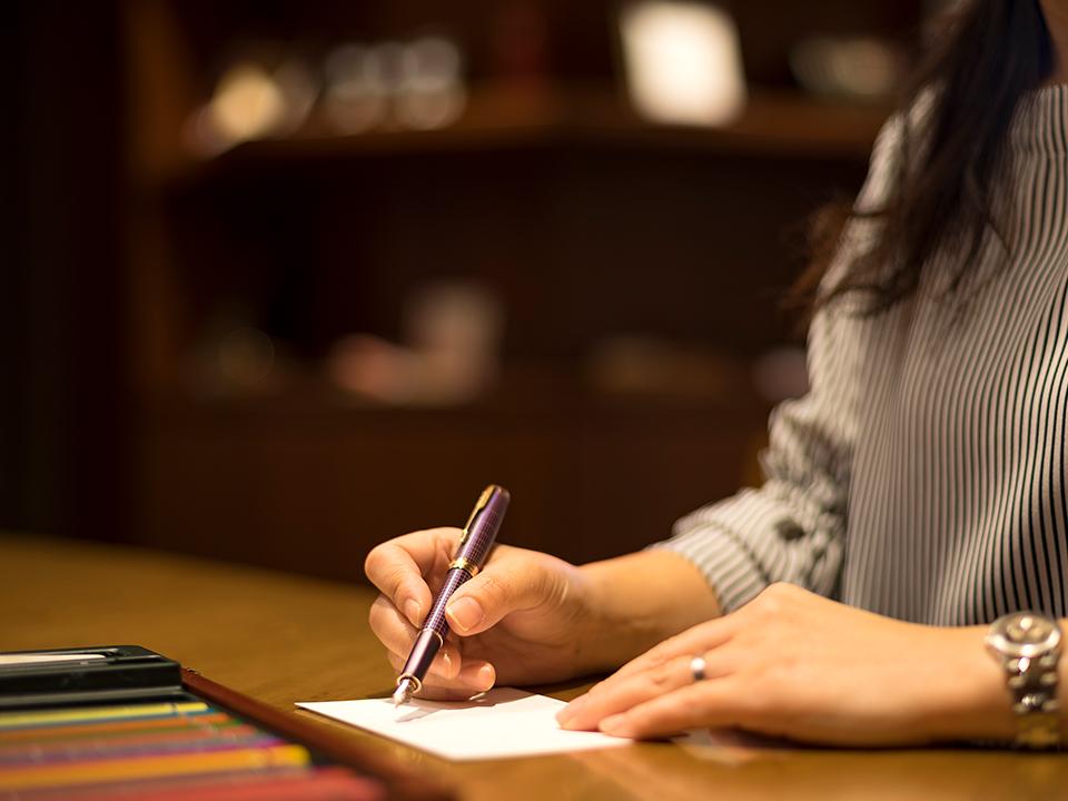 「レタールーム」で自筆のお手紙を・・・