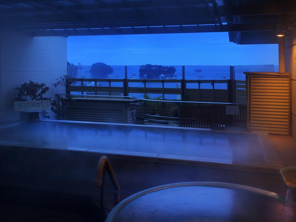 大浴場露天風呂(女性)からの眺め