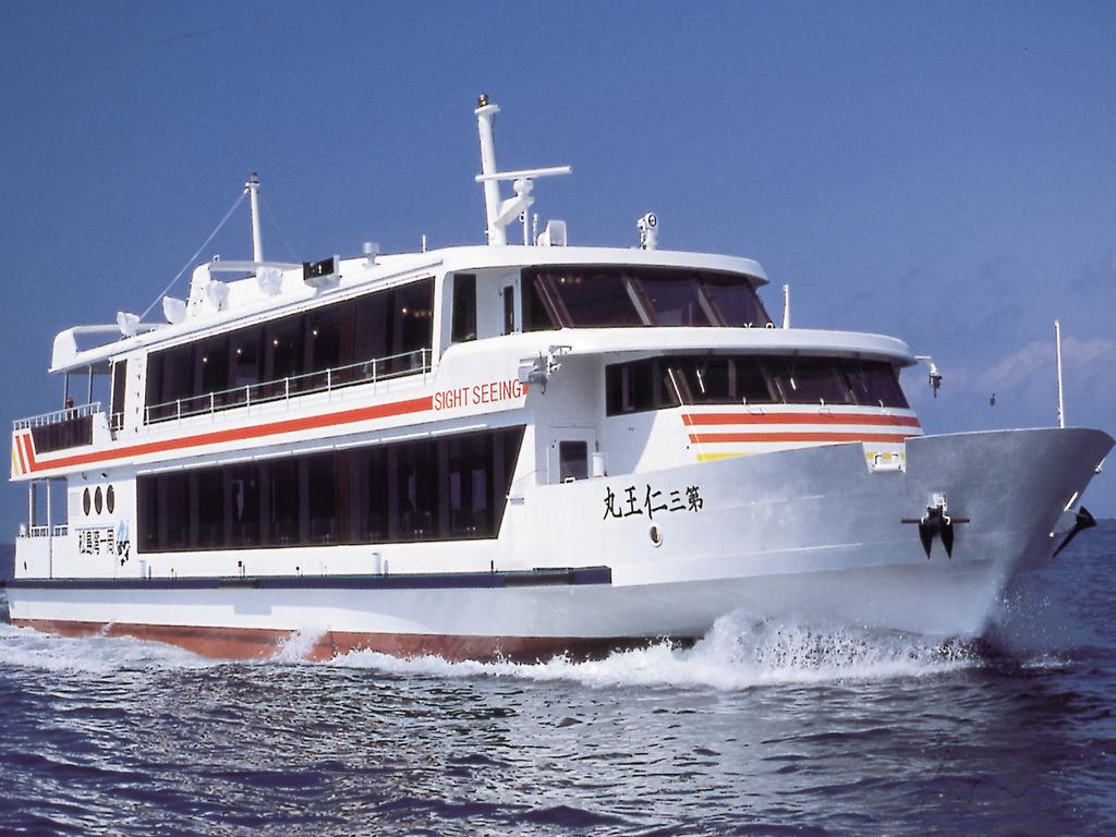 松島湾内一周にてゆったりとお楽しみください