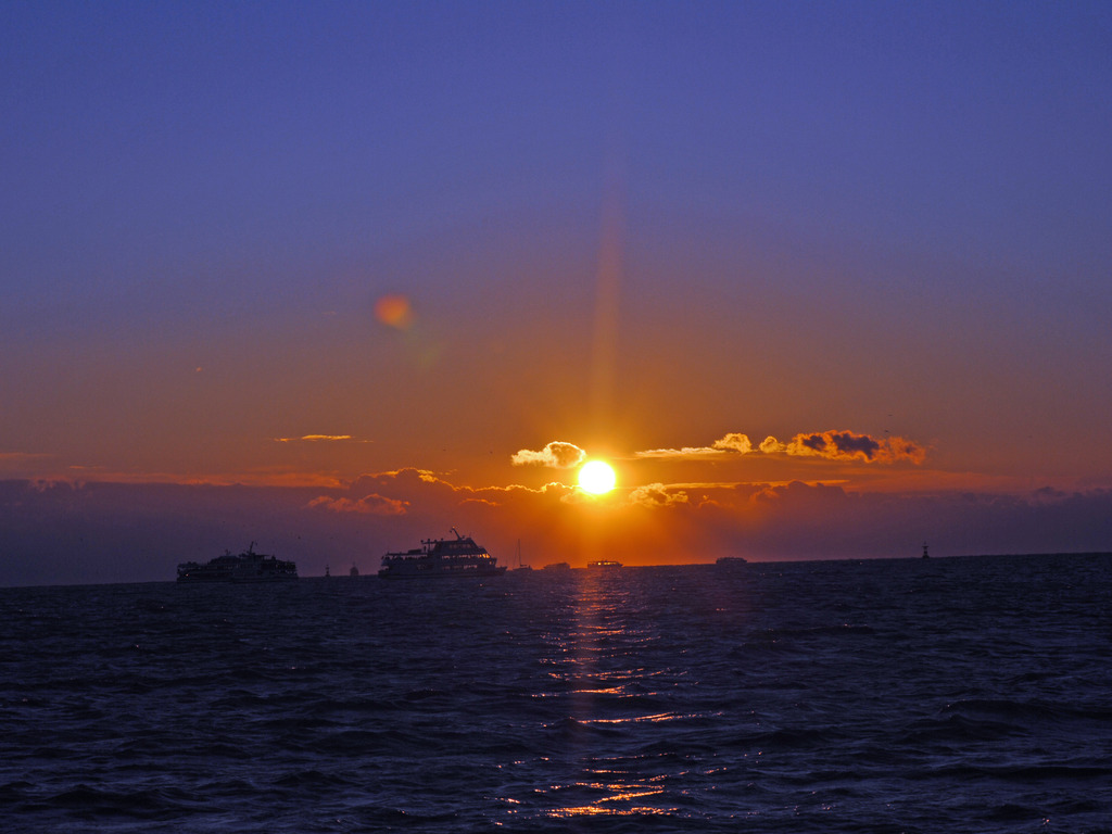 松島湾の初日の出のイメージ