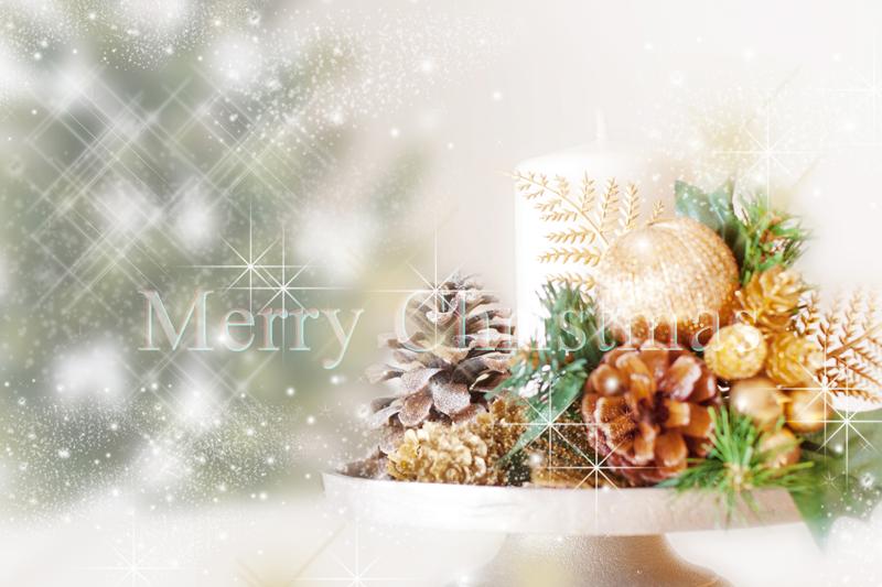 館内ではいろいろなクリスマス飾りでお客様をお迎えします