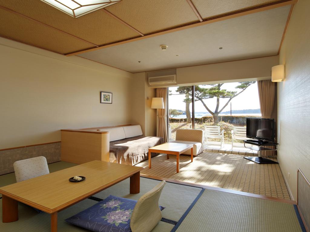 1階海側のお部屋でお得にご宿泊♪エントランス近くでお出かけにも便利です。