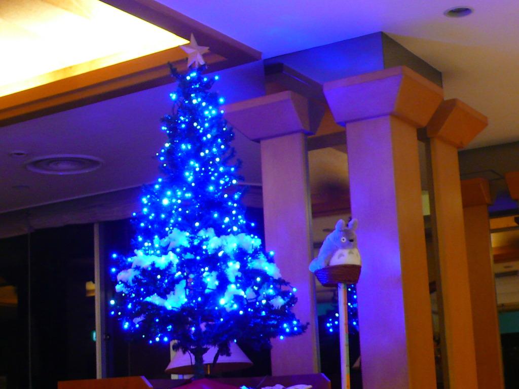 ロビークリスマスツリー