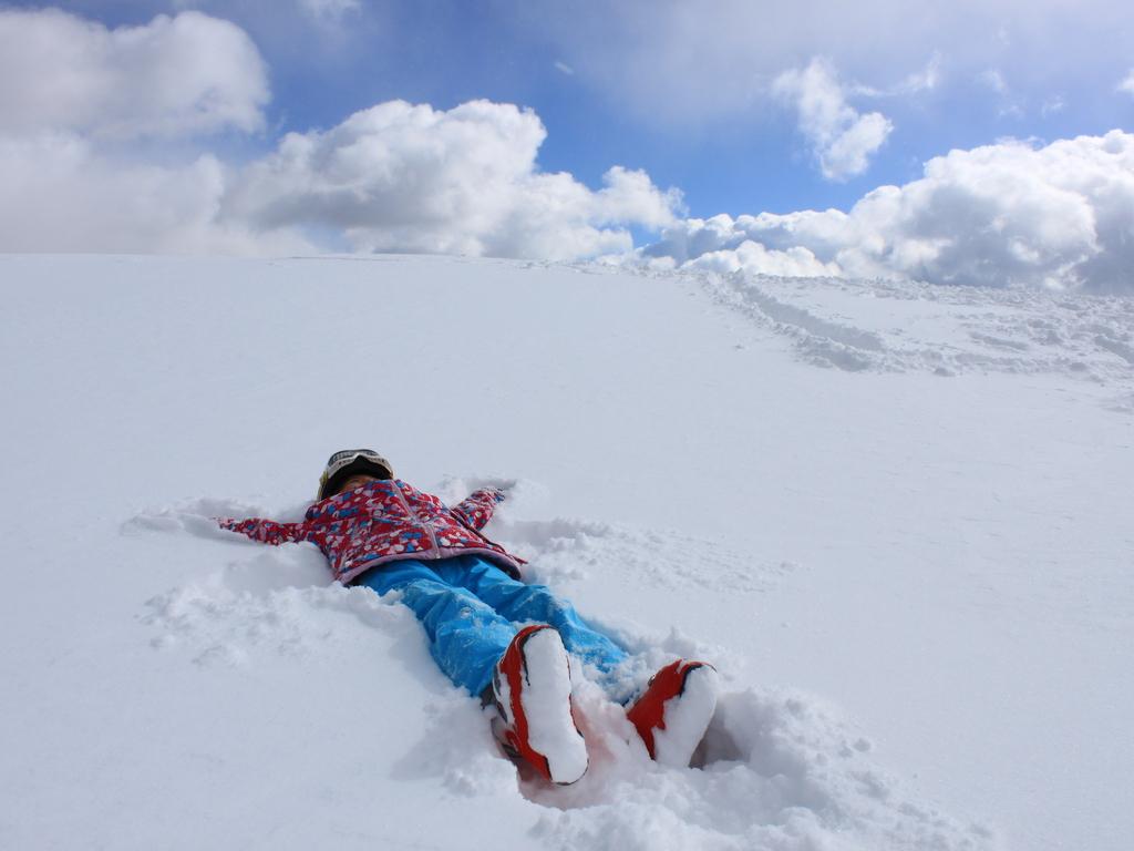 サラサラな雪質に大満足♪