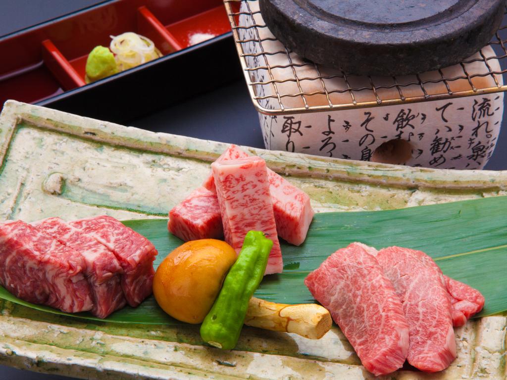 飛騨牛食べ比べステーキ