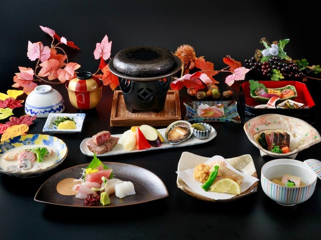 彩り会席 ※秋の料理イメージ