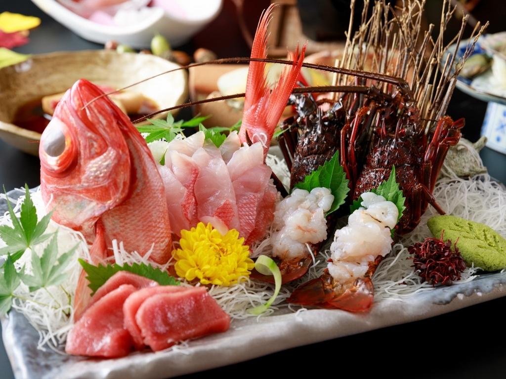 伊勢海老・金目鯛料理イメージ