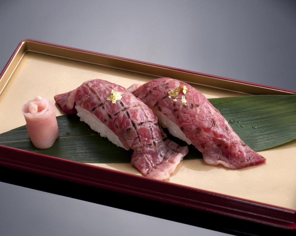 アラカルトメニューで選べる松阪牛炙りです♪