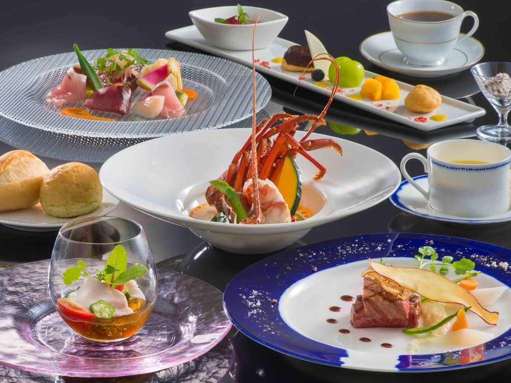 伊勢海老&松阪牛付き ◎全5皿(前菜・スープ・魚料理・肉料理・デザート)