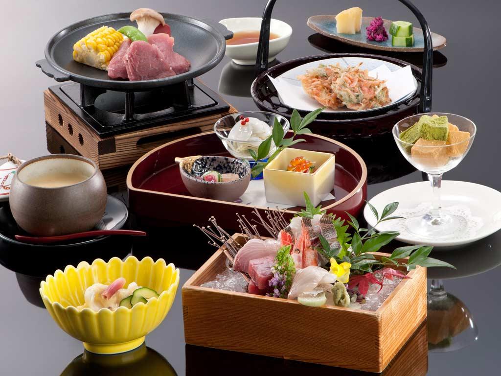料理長内容おまかせ和懐石!全11皿のコースです。