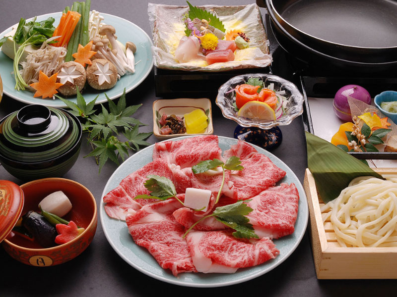 松阪牛すき焼き鍋 イメージ