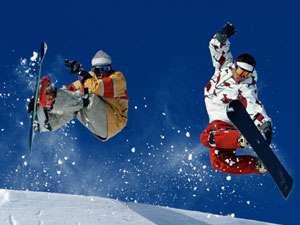 冬はスキー&スノボを満喫しよう♪