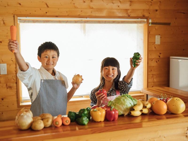 【キッチン付コテージ】お部屋にキッチンがあるので、自炊もできます★