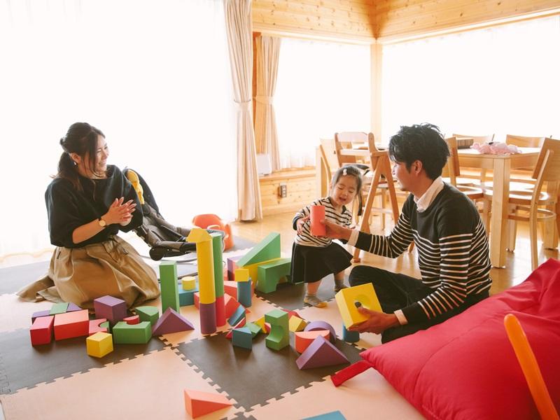 【ウェルカムベビーのお宿】お子様向けにおもちゃもご用意♪好きなだけ遊んでね