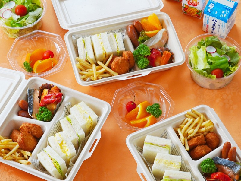 【朝食】ピクニックブレックファースト 洋食一例
