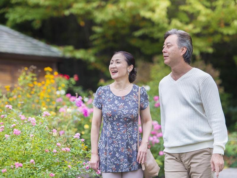 休日を自然豊かな地でゆっくりと。ご夫婦の時間を大切にお楽しみ下さい。