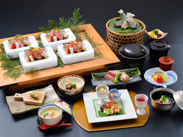 『日本海と信州の恵み会席』