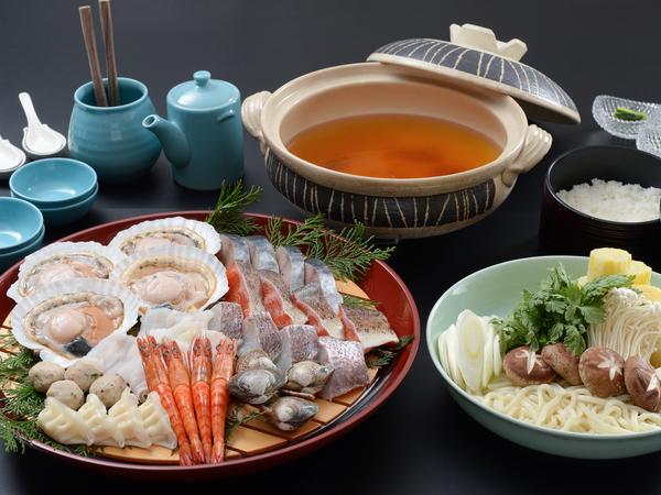 【海鮮鍋セット】旬の魚介が大集合!