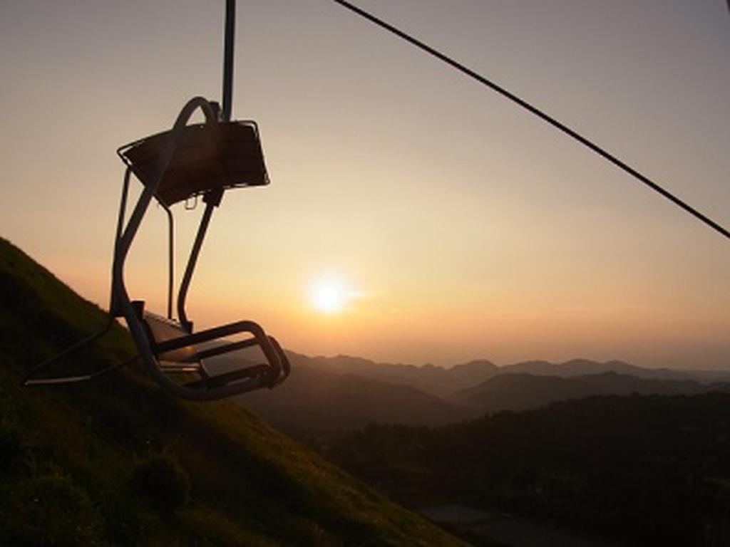 大室山リフト夕涼み特別運行