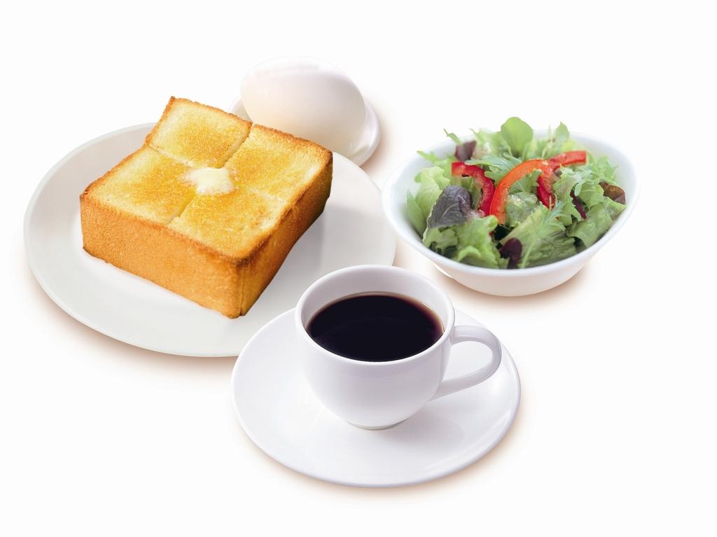 ゆで卵_厚切りトースト