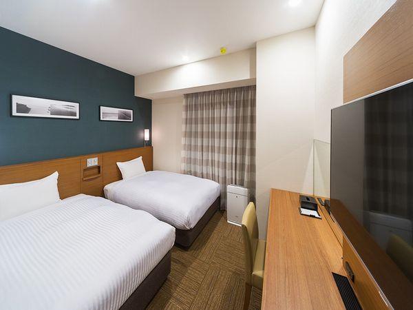 ツインルーム■16.22平米■ベッド幅110cm×2台
