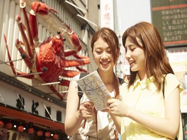朝食は嬉しい1コインで、お安く泊まって大阪を周遊